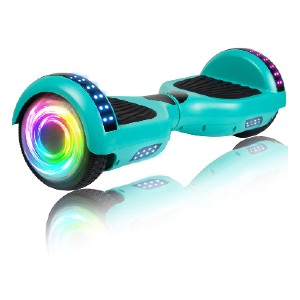 SISIGAD Hoverboard with Bluetooth and Colorful Lights  - Best Hoverboard Off Road: Best pocket-friendly options