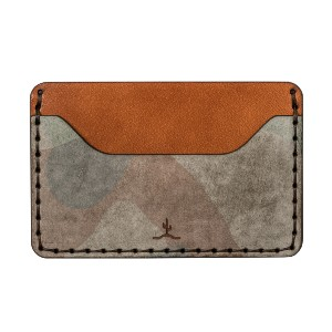Bexar Goods Co. SLIM WALLET GHOST CAMO - Best Leather Card Holders: Handmade Wallet to Hide Your Cards