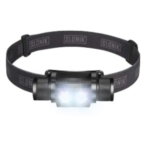 SLONIK 1000 Lumen Rechargeable - Best Headlamps for Hunting: Comfortable to Wear and Fits Perfectly