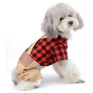 SMALLLEE_LUCKY_STORE Dog Christmas Clothes  - Best Clothes for Dogs: Perfect for all occasions