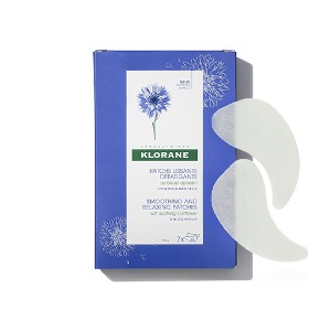 Klorane Smoothing and Relaxing Patches - Best Eye Patches for Dark Circles: Refreshes and Moisturizes Tired Eyes