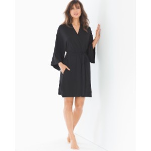 SOMA Kimono Sleeve Short Robe - Best Robes for Summer: Robe for Sleep and After Shower