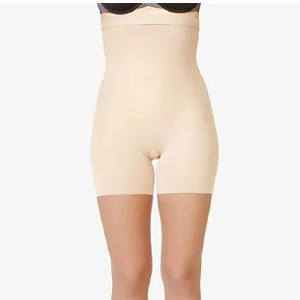 Spanx FIRM BELIEVER HIGH-WAIST SHAPING SHEERS - Best Shapewear for Wedding Dress: High-Waist Sheers that Disappears on Your Legs!