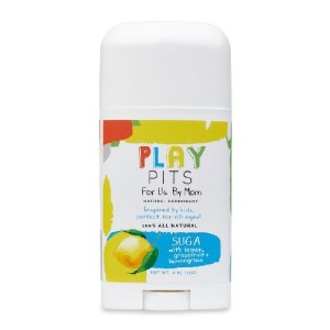 Play Pits SUGA - Best Deodorant for Kids: Help Promote a Sense of Focus
