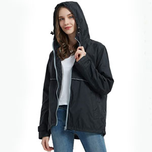 SUNDAY ROSE Store Rain Jacket Lightweight - Best Raincoats for Cold Weather: Lightweight Raincoat