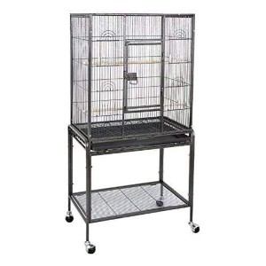 Super Deal 53''/59.3''/63.5'' Rolling Bird Cage - Best Bird Cages for Budgies: Stands the test of time