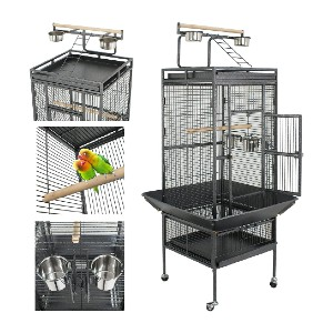 Super Deal PRO 61'' 2in1 Large Bird Cage - Best Bird Cage for Finches: Your finches won't escape