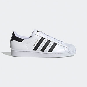 ADIDAS SUPERSTAR  - Best Sneakers Under 150: Iconic leather shoes