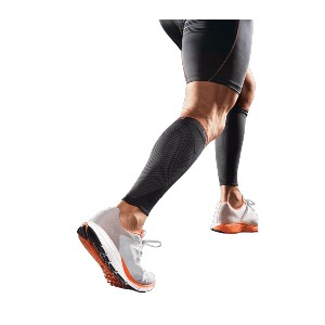 Shock Doctor SVR Recover Compression Sleeves - Best Compression Shin Splint Sleeves: Breathable Ventilated Construction