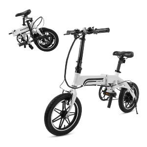 Swagtron Swagcycle EB-5 Lightweight  - Best Electric Bike with Throttle: Best for short riders