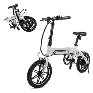 Swagtron Swagcycle EB-5 Lightweight  - Best Electric Bike on Amazon: Best for short rider