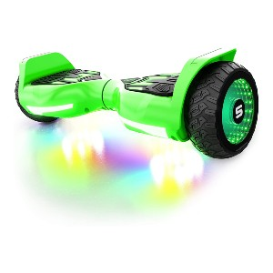Swagtron T580 App-Enabled Bluetooth Hoverboard - Best Hoverboard Under $200: Dazzling light show