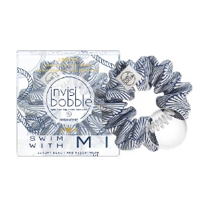 invisibobble SWIM WITH MI - Best Hair Scrunchies: Spiral Hair Ring Inside