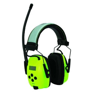 SYNC Radio Hi-Visibility - Best Shooting Hearing Protection: Outer Slip-Lid Battery Compartment