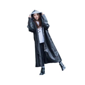 SZFY Multifunctional EVA Raincoat - Best Raincoats for Women: Long Raincoat for Better Coverage