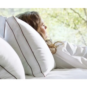 Saatva Latex Pillow - Best Pillow to Stop Snoring: Washable Pillow Cover