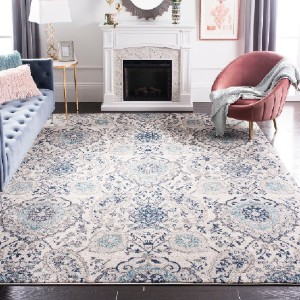 Safavieh Madison Belle Vintage Boho - Best Rugs for Dining Rooms: Kid and Pet-Friendly