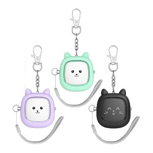 VIGOROAD Safe Sound Personal Alarm 3 Pack - Best Personal Alarm for Safety: Super adorable!