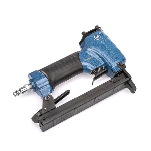 Sailrite Short Nose Upholstery Staple Gun - Best Staplers for Upholstery: Ideal for Delicate Faux Leather or Vinyl Fabric Applications