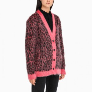 Saint Laurent Embroidered oversized cardigan - Best Cardigans for Women: Stretch Wool Cardigan