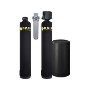 RKIN Salt Based Water Softener  - Best Water Filtration Home System: Filters Out Harmful Contaminants