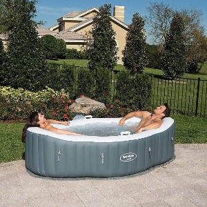 SaluSpa Siena AirJet Inflatable Hot Tub - Best Two-Person Hot Tubs: Durable Hot Tub