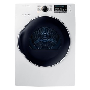 Samsung 4.0 Cu. Ft. Stackable Electric Dryer - White - Best Compact Dryers: No more over-drying