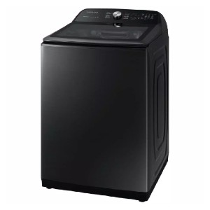 Samsung 5.0 cu. ft. Hi-Efficiency Stainless Washing Machine - Best Washers for Comforters: Spotlessly clean in 36 mins