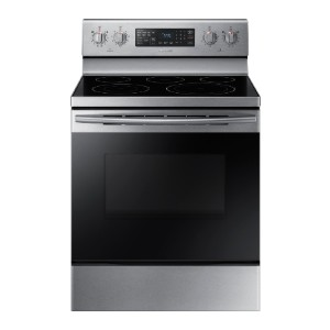 Samsung 5.9 cu. ft. Convection Freestanding Electric Range - Best Electric Ranges Under 1000: Accessible cookware