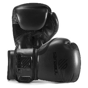 Sanabul Essential Gel - Best Boxing Gloves for Sparring: Proper Fist Closure while Striking