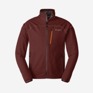 Eddie Bauer Sandstone Soft Shell Jacket - Best Rain Jackets for Running: Simple and Not Bulky