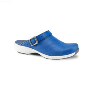 Sanita Wave Leather Clogs with Carbon Style Open Heel - Best Waterproof Shoes for Nurses: Strong Durability and Stability