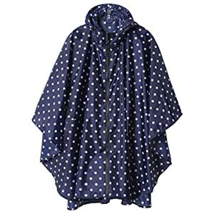 SaphiRose Rain Poncho Jacket Coat for Adults - Best Raincoats with a Suit: Simple at its finest