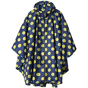 SaphiRose Rain Poncho Jacket Coat for Adults - Best Raincoats for Summer: Stay dry, stay flattering