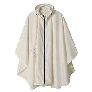 SaphiRose Rain Poncho Jacket - Best Raincoats for Hiking: You will be easy to spot