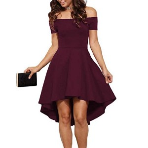 Sarin Mathews Womens Off The Shoulder Cocktail Dress - Best Off The Shoulder Dresses: Great for all seasons