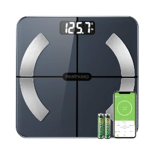 Healthkeep Smart Wireless Digital Scale - Best Weight Scale to Buy: 13 body composition metrics