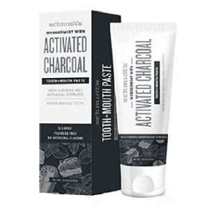 Schmidt's Wondermint with Activated Charcoal Toothpaste - Best Toothpaste without Fluoride: Bye, unpleasant aftertaste!