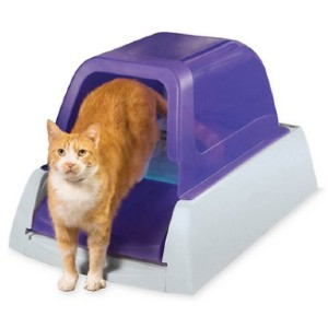 ScoopFree Automatic Cat Litter Box - Best Self Cleaning Litter Box for Multiple Cats: Extremely Efficient As This System Uses 5 to 10 Times Less Litter