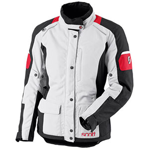 Scott Turn DP - Best Raincoat for Motorcycle Riders: Wearable with Open and Closed Collar