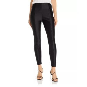 Good American Scuba Disco Pants - Best Leggings for Plus Size: Partially Banded Waist