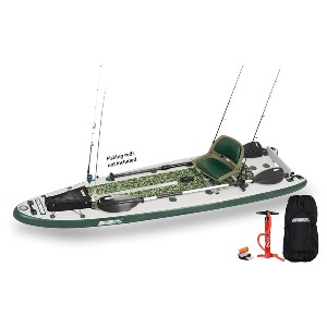 Sea Eagle 126 Inflatable FishSUP - Best Paddleboard for Fishing: Best for serious fishers
