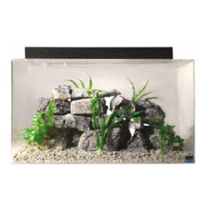 SeaClear Acrylic Aquarium Combo Set  - Best Tank for a Turtle: Stronger than glass