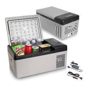 Seangles Portable Freezer - Best Electric Coolers for Camping: Easy to Carry Cooler