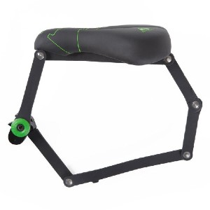 Seatylock Comfort Classic Black - Best Lock for Electric Bike: Fast and Easy to Take On and Off