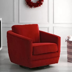Second Story Home Gogh Swivel Glider - Best Glider Chair for Living Room: Modern Glider