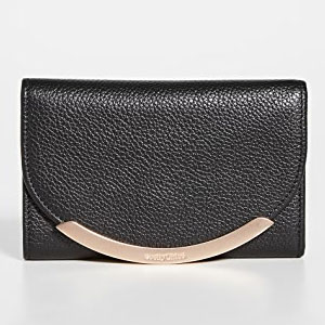 See by Chloe Lizzie Small Wallet  - Best Wallet for Women: Elegant small wallet