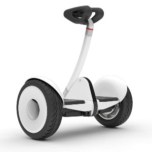 Segway Ninebot S Smart Self-Balancing Electric Scooter - Best Hoverboard for Heavy Adults: Precise steering and easy lifting
