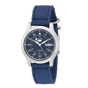Seiko Men's SNK807 Seiko 5  - Best Mud Resistant Watches: For those who like simplicity