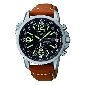Seiko SSC081 - Best Durable Watches for Construction Workers: Suitable for any style